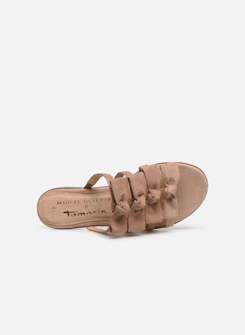 Sandales et nu-pieds Tamaris 27102 Rose vue gauche