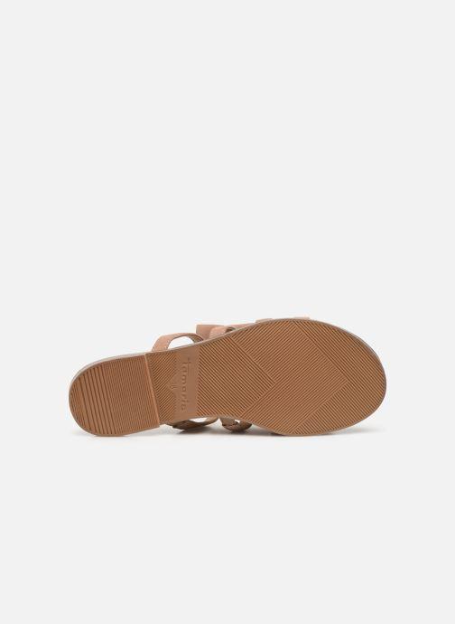 Sandales et nu-pieds Tamaris 27102 Rose vue haut