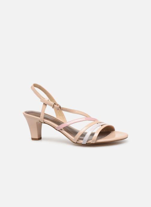 Sandales et nu-pieds Tamaris 28023 Beige vue derrière