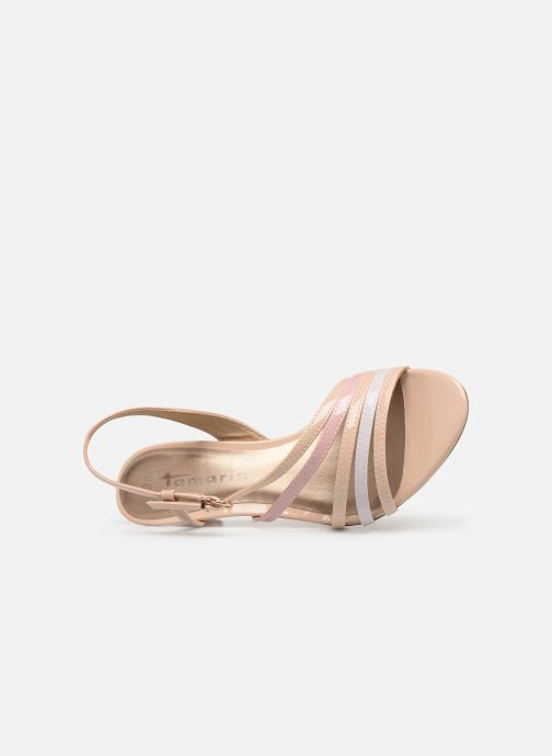 Sandales et nu-pieds Tamaris 28023 Beige vue gauche