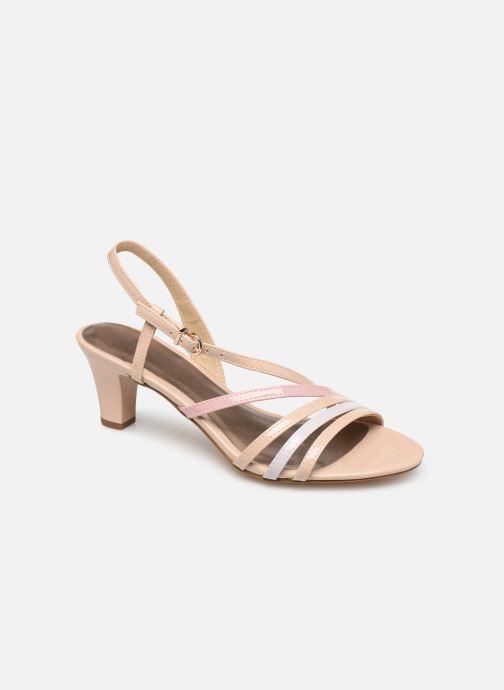 Sandales et nu-pieds Tamaris 28023 Beige vue détail/paire