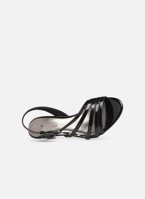 Sandales et nu-pieds Tamaris 28023 Noir vue gauche
