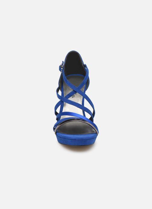 Sandales et nu-pieds Tamaris 28038 Bleu vue portées chaussures