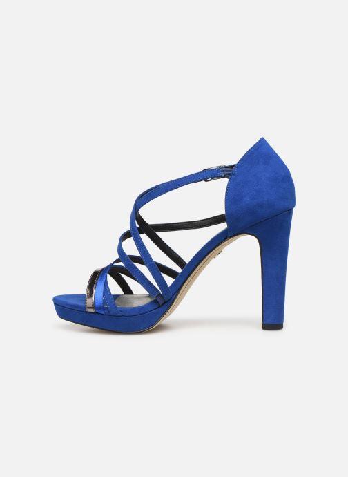 Sandalias Tamaris 28038 Azul vista de frente