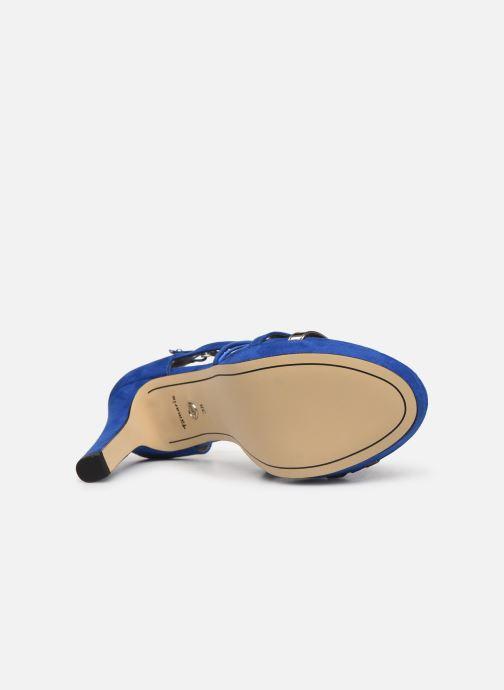 Sandales et nu-pieds Tamaris 28038 Bleu vue haut
