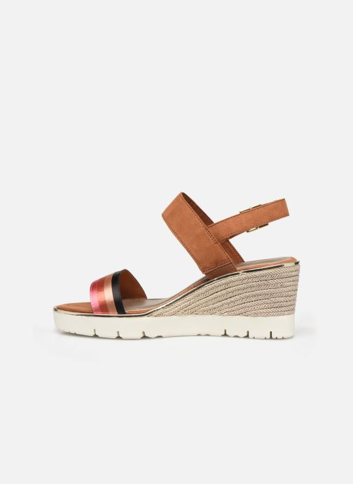 Sandales et nu-pieds Tamaris 28047 Marron vue face