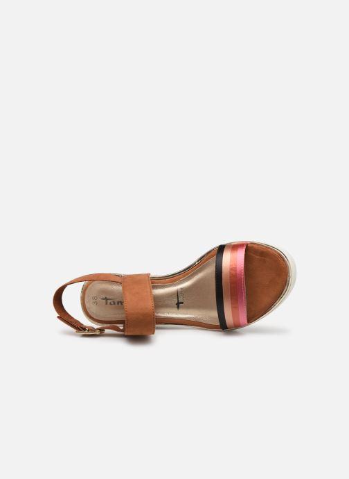 Sandales et nu-pieds Tamaris 28047 Marron vue gauche