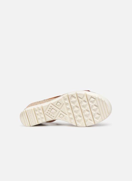 Sandales et nu-pieds Tamaris 28047 Marron vue haut