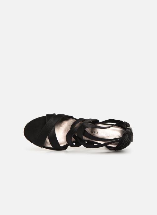 Sandalen Tamaris 28052 Zwart links