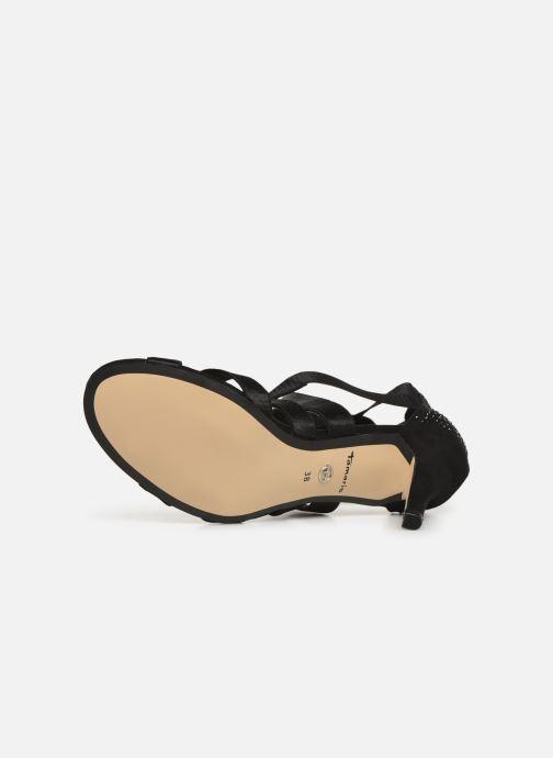 Sandali e scarpe aperte Tamaris 28052 Nero immagine dall'alto