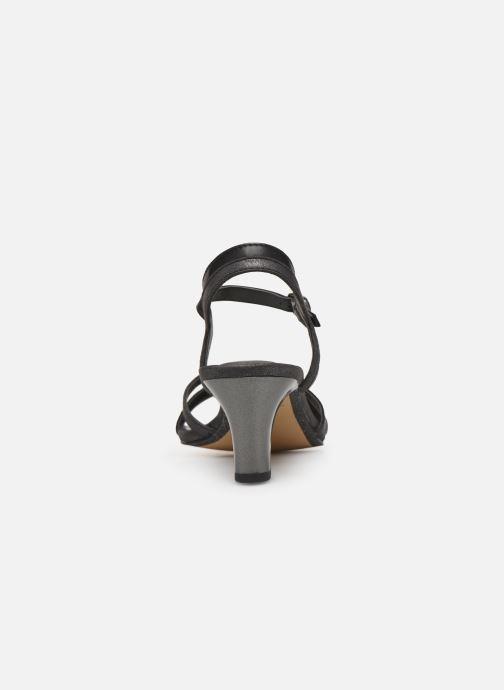 Sandales et nu-pieds Tamaris 28053 Noir vue droite