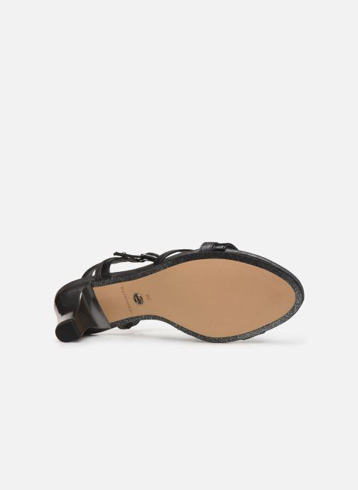 Sandalen Tamaris 28053 schwarz ansicht von oben