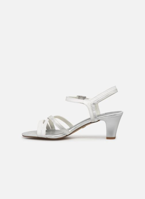 Sandales et nu-pieds Tamaris 28053 Blanc vue face