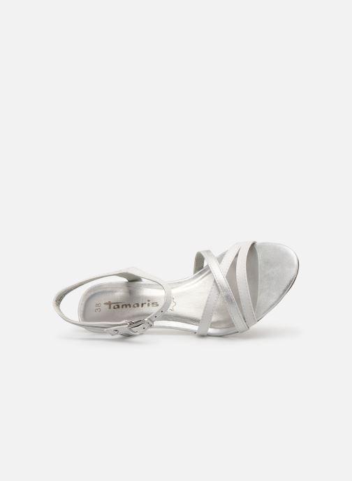 Sandales et nu-pieds Tamaris 28053 Blanc vue gauche