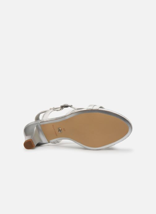 Sandales et nu-pieds Tamaris 28053 Blanc vue haut