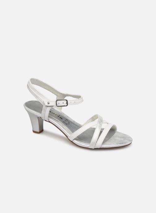 Sandales et nu-pieds Tamaris 28053 Blanc vue détail/paire
