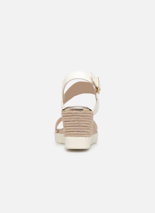 Sandales et nu-pieds Tamaris 28077 Blanc vue droite