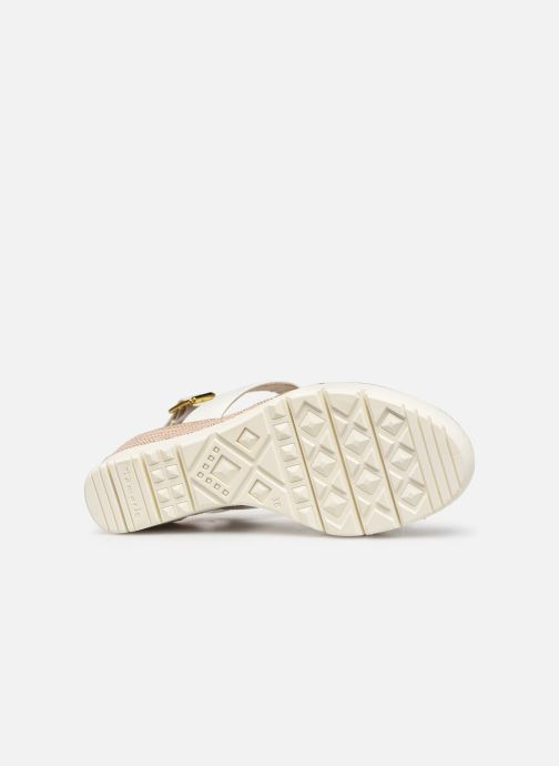 Sandales et nu-pieds Tamaris 28077 Blanc vue haut