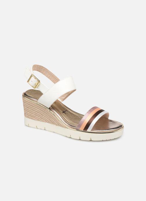 Sandales et nu-pieds Tamaris 28077 Blanc vue détail/paire