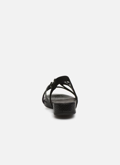 Sandales et nu-pieds Tamaris 28177 Noir vue droite