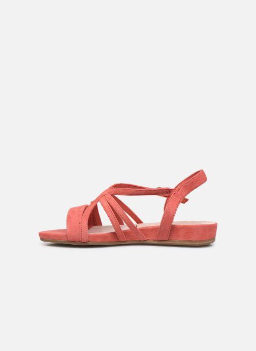 Sandales et nu-pieds Tamaris 28177 Rose vue face