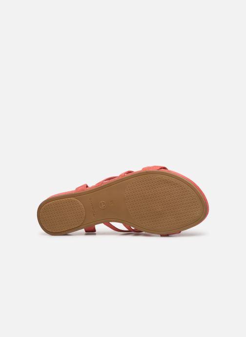 Sandales et nu-pieds Tamaris 28177 Rose vue haut