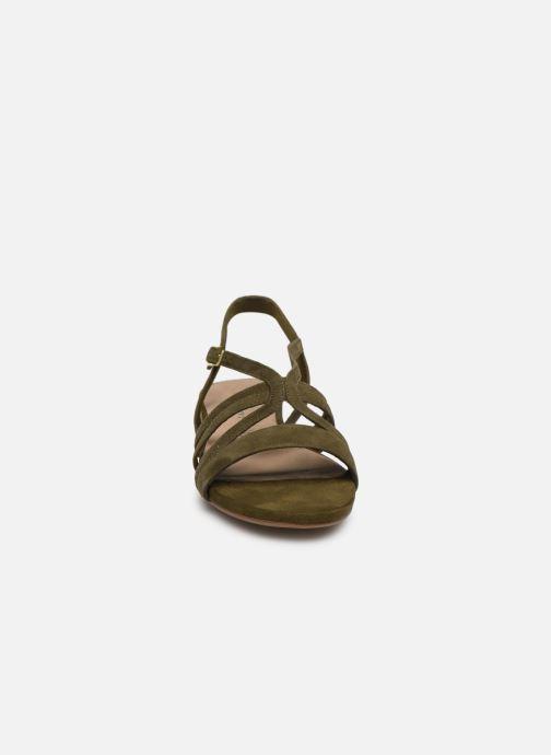 Sandales et nu-pieds Tamaris 28177 Vert vue portées chaussures