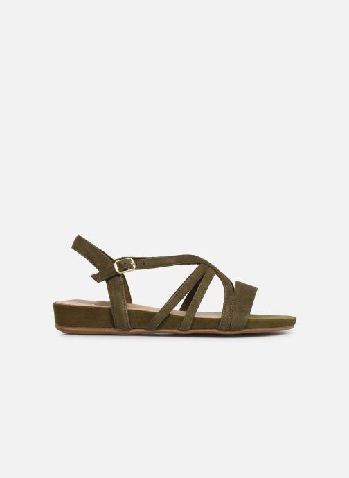 Sandales et nu-pieds Tamaris 28177 Vert vue derrière