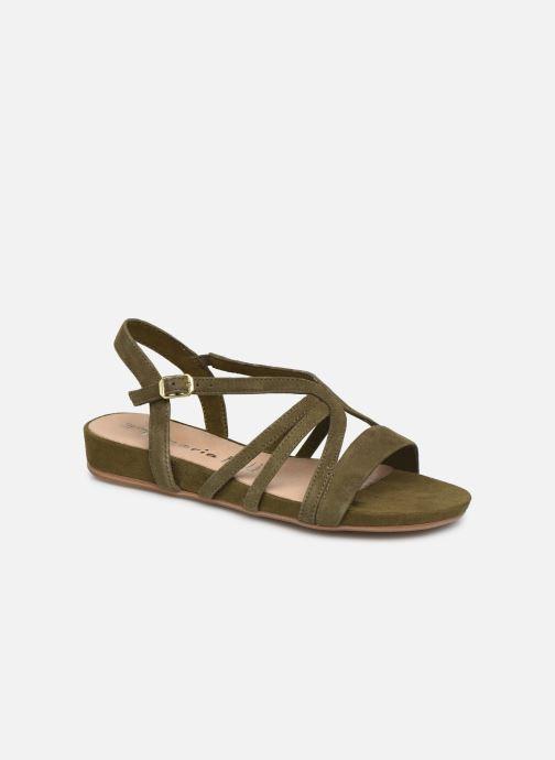 Sandales et nu-pieds Tamaris 28177 Vert vue détail/paire