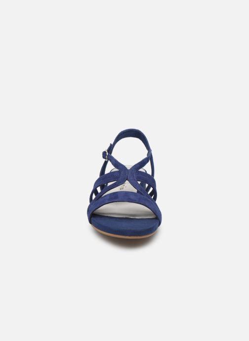 Sandales et nu-pieds Tamaris 28177 Bleu vue portées chaussures