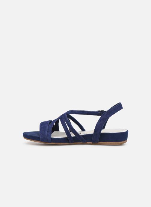 Sandales et nu-pieds Tamaris 28177 Bleu vue face