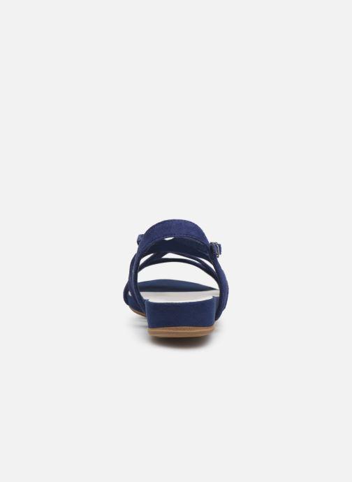 Sandales et nu-pieds Tamaris 28177 Bleu vue droite
