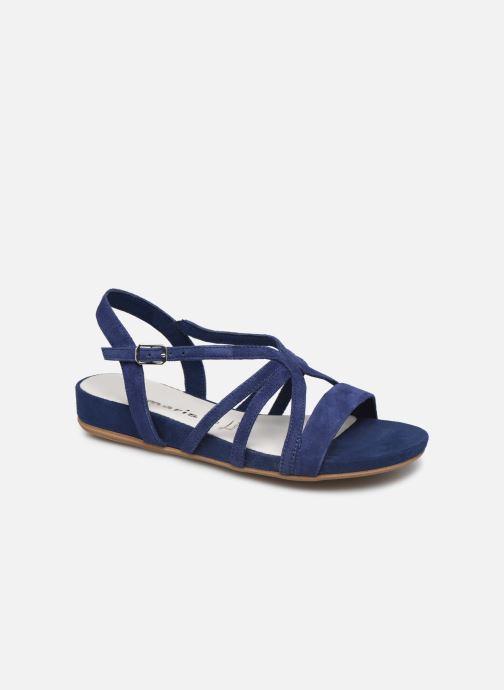 Sandales et nu-pieds Tamaris 28177 Bleu vue détail/paire
