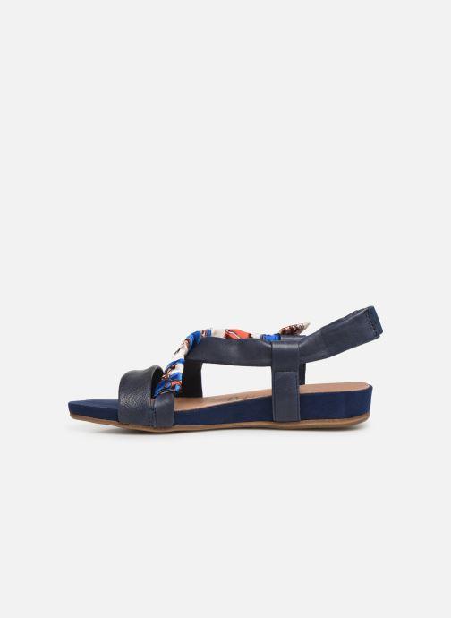 Sandales et nu-pieds Tamaris 28178 Bleu vue face