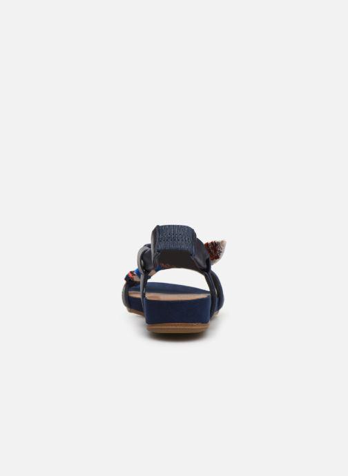 Sandales et nu-pieds Tamaris 28178 Bleu vue droite