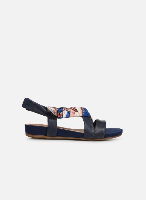 Sandales et nu-pieds Tamaris 28178 Bleu vue derrière