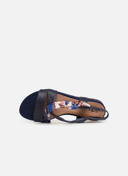 Sandales et nu-pieds Tamaris 28178 Bleu vue gauche