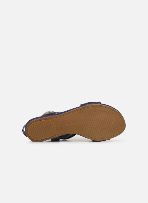 Sandales et nu-pieds Tamaris 28178 Bleu vue haut