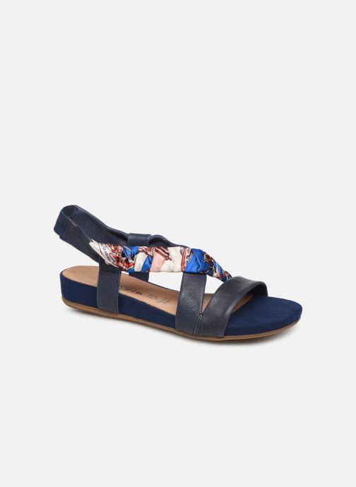 Sandales et nu-pieds Tamaris 28178 Bleu vue détail/paire
