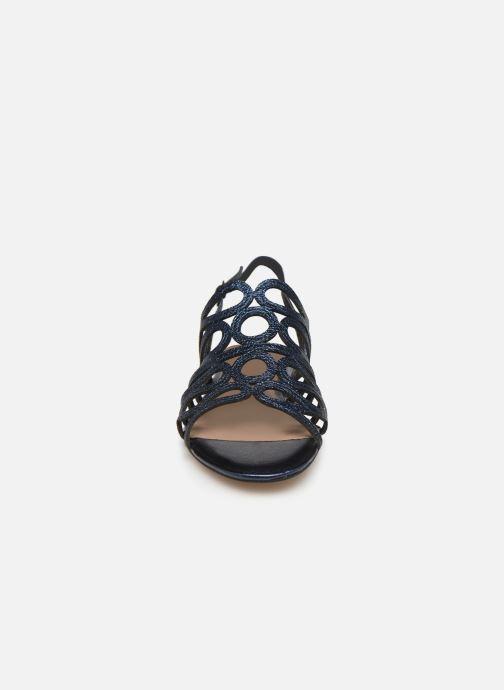 Sandales et nu-pieds Tamaris 28214 Bleu vue portées chaussures