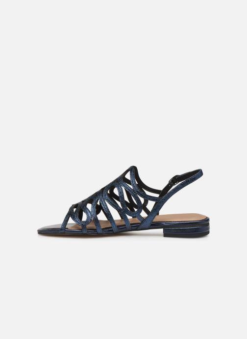 Sandales et nu-pieds Tamaris 28214 Bleu vue face