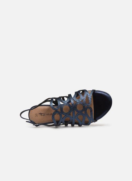 Sandales et nu-pieds Tamaris 28214 Bleu vue gauche