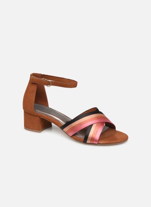 Sandales et nu-pieds Tamaris 28258 Marron vue détail/paire