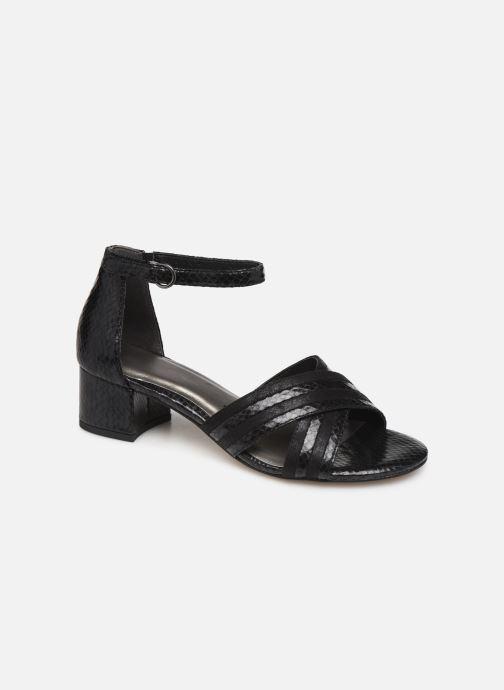 Tamaris Aunée (Noir) Sandales et nu pieds chez Sarenza