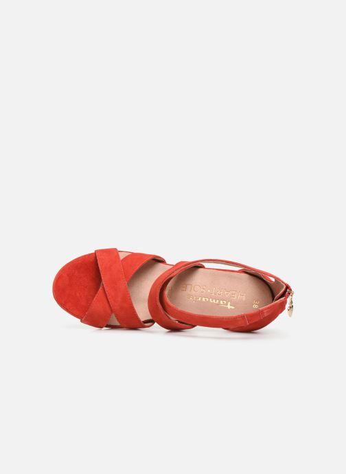 Sandales et nu-pieds Tamaris 28302 Rouge vue gauche