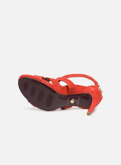 Sandales et nu-pieds Tamaris 28302 Rouge vue haut