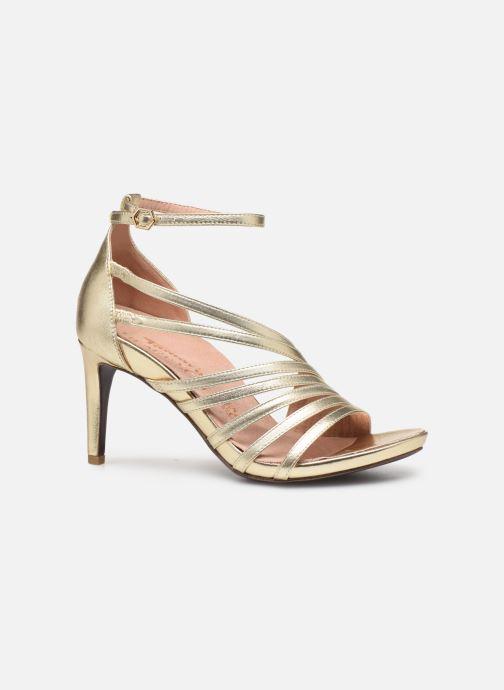Sandales et nu-pieds Tamaris 28303 Or et bronze vue derrière