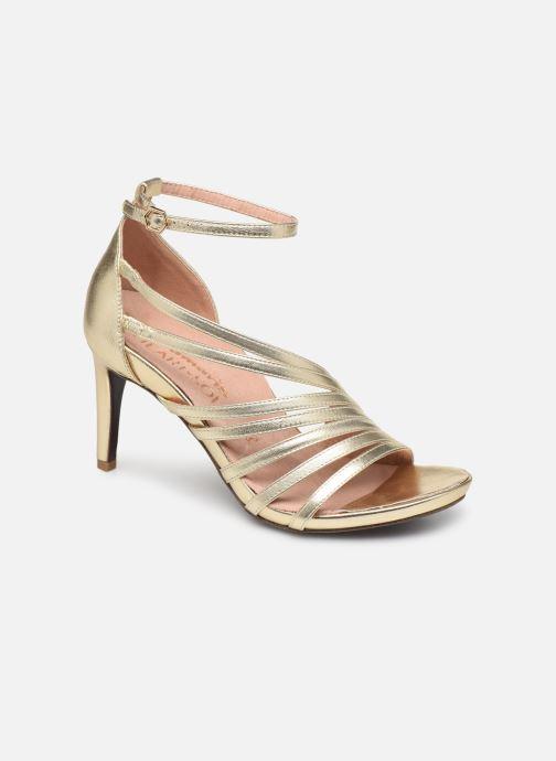 Sandales et nu-pieds Tamaris 28303 Or et bronze vue détail/paire