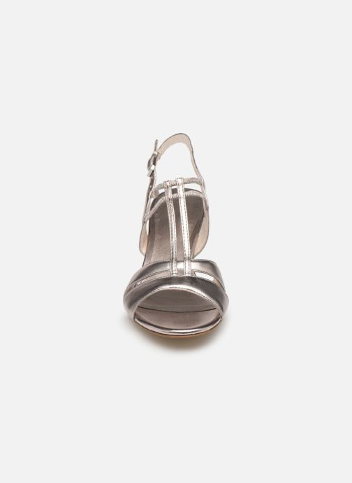 Sandales et nu-pieds Tamaris 28304 Rose vue portées chaussures