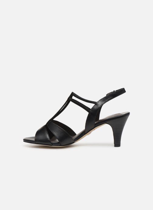 Sandales et nu-pieds Tamaris 28304 Noir vue face